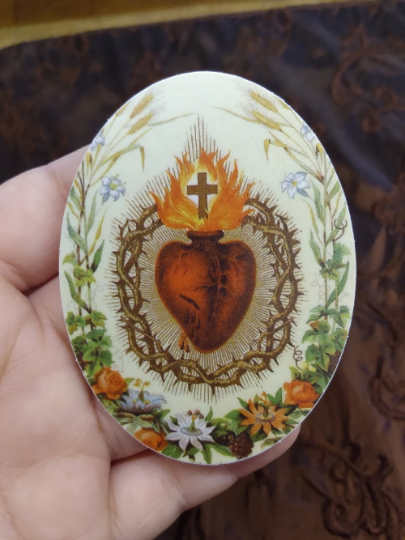 Sticker–Sacred Heart of Jesus