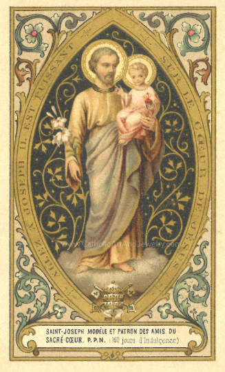 Joseph of the Sacred Heart Print