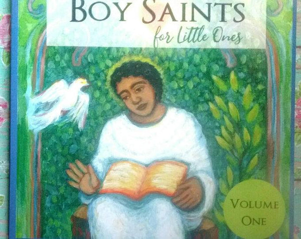 Boy Saints for Little Ones Book