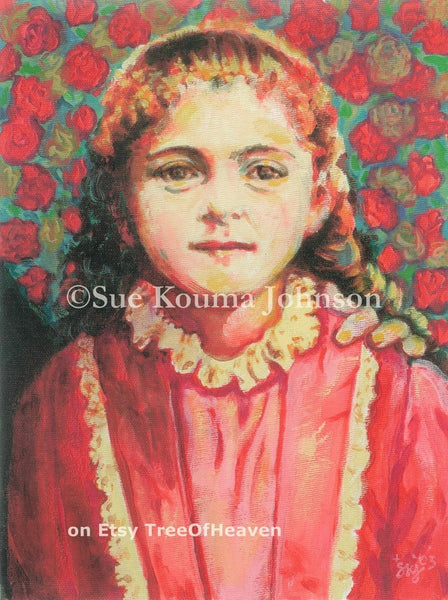 Saint Therese of the Child Jesus Canvas Giclee