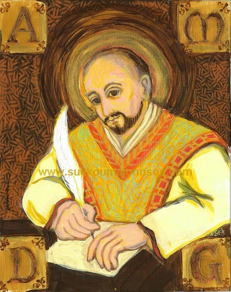 Saint Ignatius of Loyola Art Print