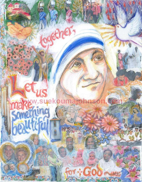 Saint Teresa of Calcutta Art Print