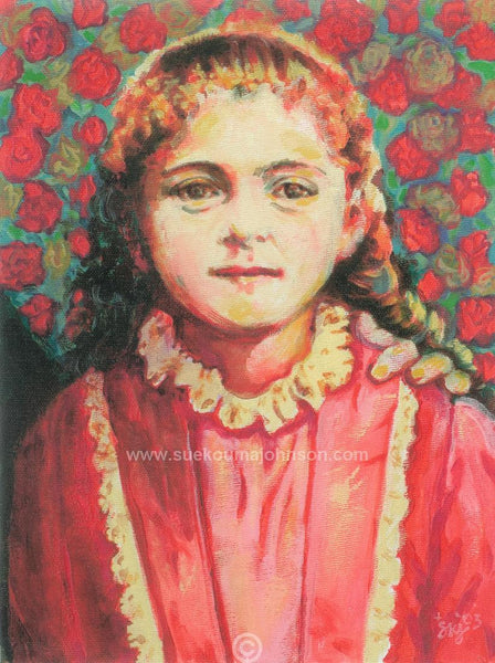 Therese of Lisieux of the Child Jesus Art Print