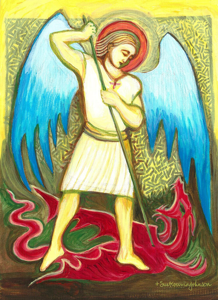 Saint Michael the Archangel Art Print