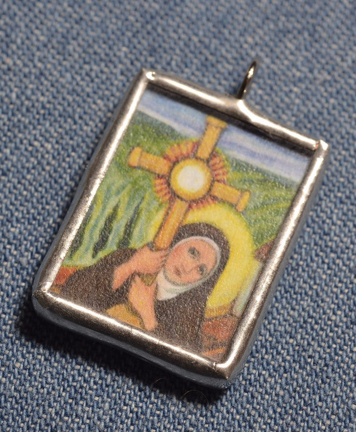 Saint Clare of Assisi Medal