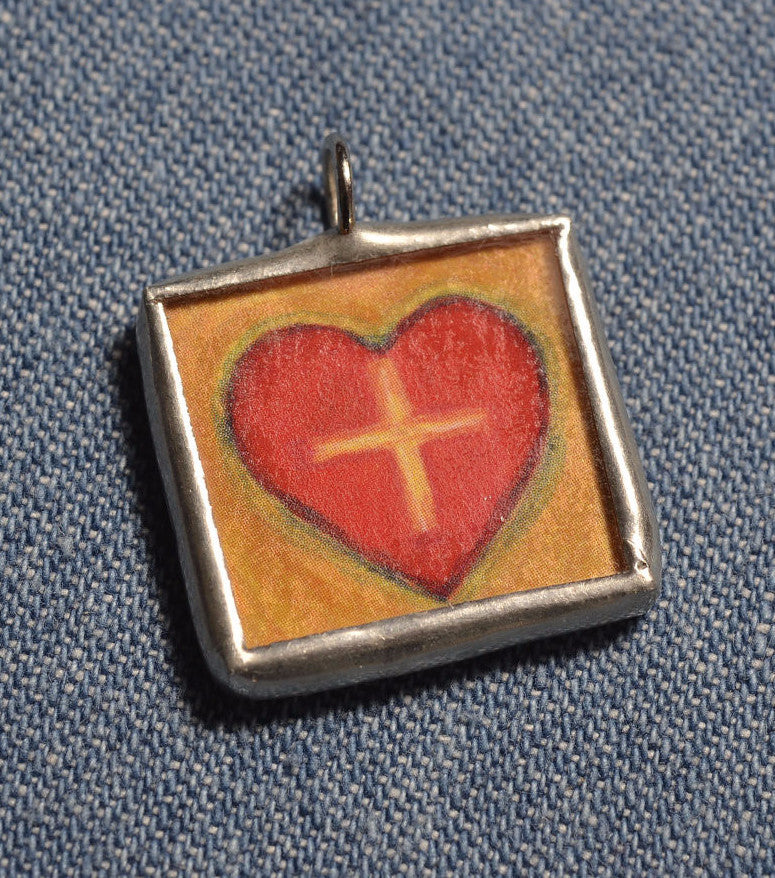 Jesus in My Heart Medal