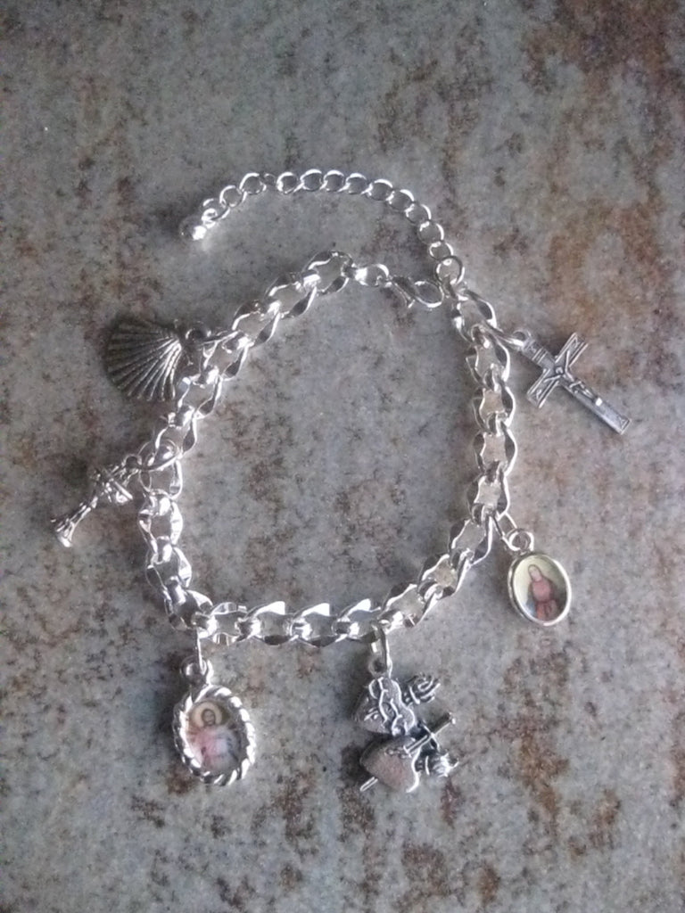 First Communion Charm Bracelet