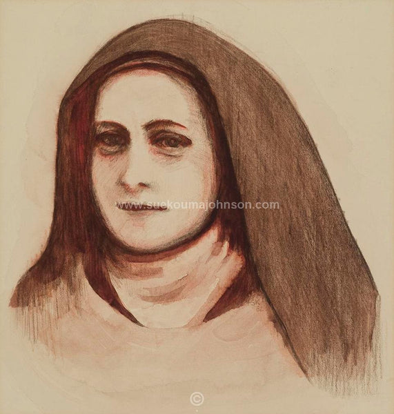 Saint Therese of Lisieux Art Print