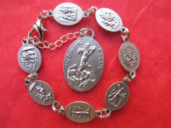 Seven Sorrows of Our Lady Bracelet