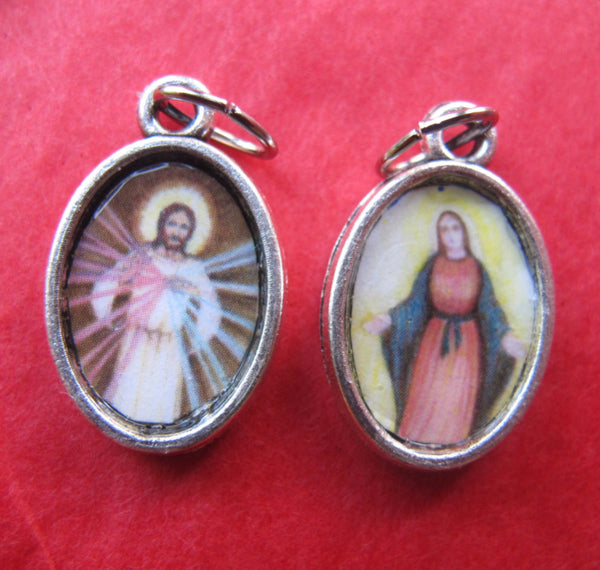 Divine Mercy & Our Lady of Grace and Light - Double Sided