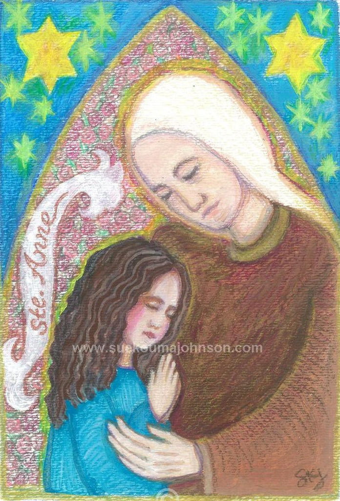 Saint Anne Art Print