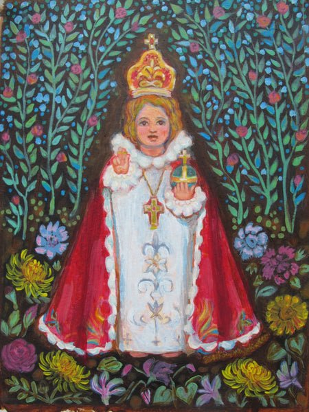 Infant of Prague Art Print