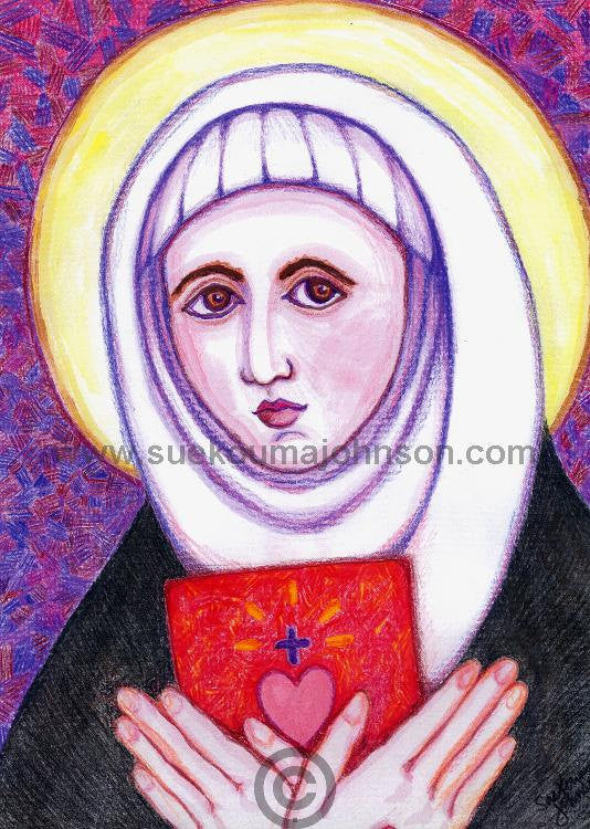 Saint Catherine of Sienna Art Print