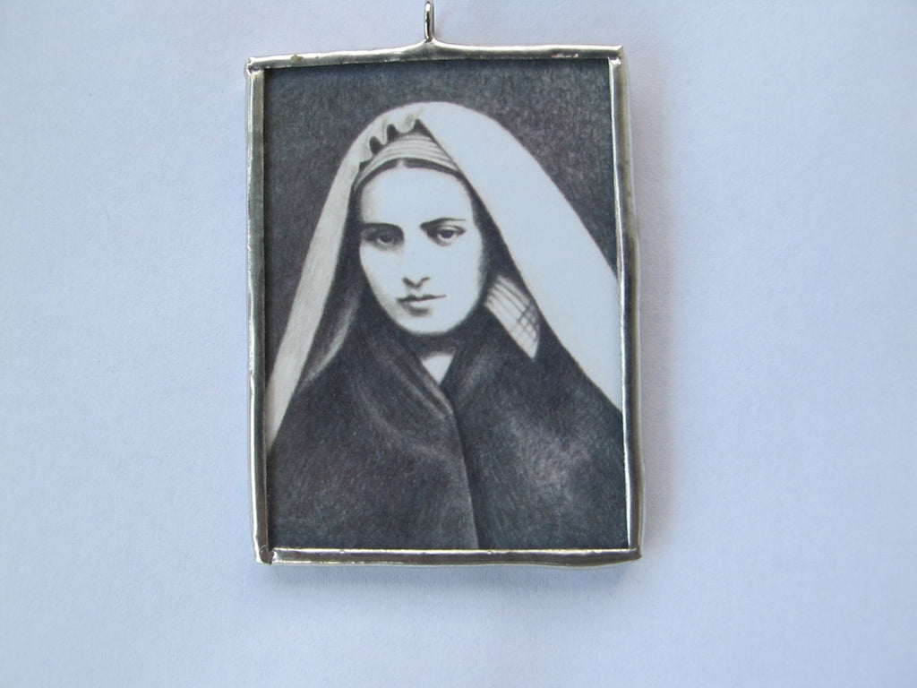 Saint Bernadette of Lourdes Ornament