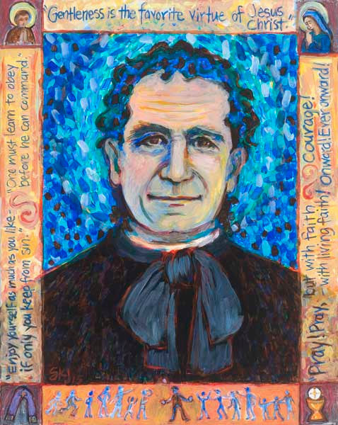 Saint John Bosco Art Print