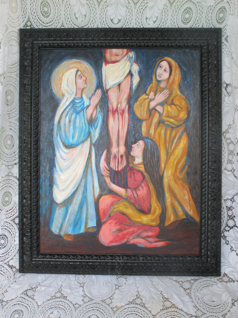 Three Marys Painting
