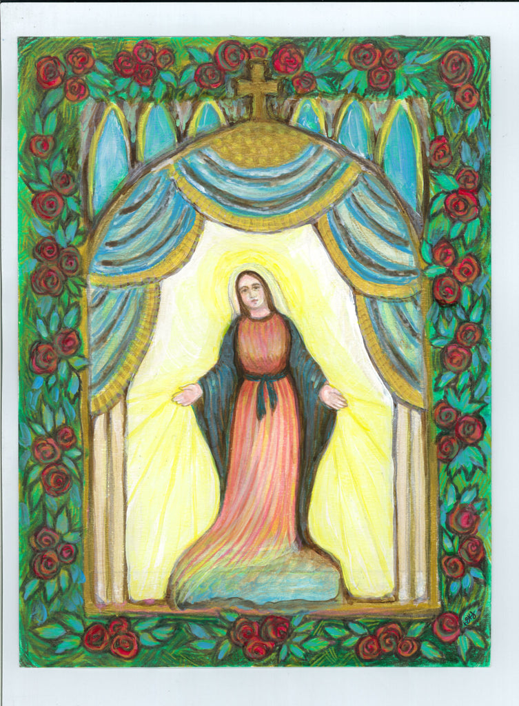 Our Lady of Grace and Light Painting