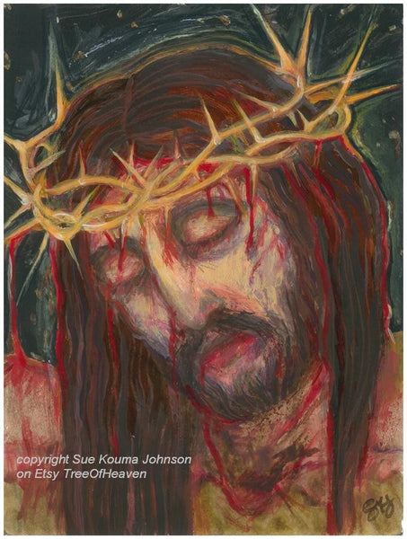 Man of Sorrows Art Print