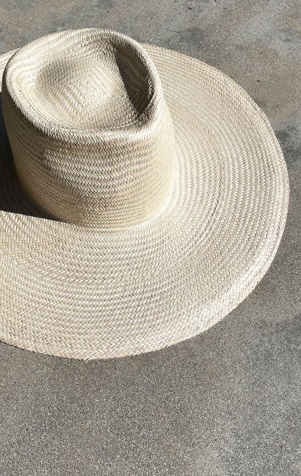 Summer Hat In Natural