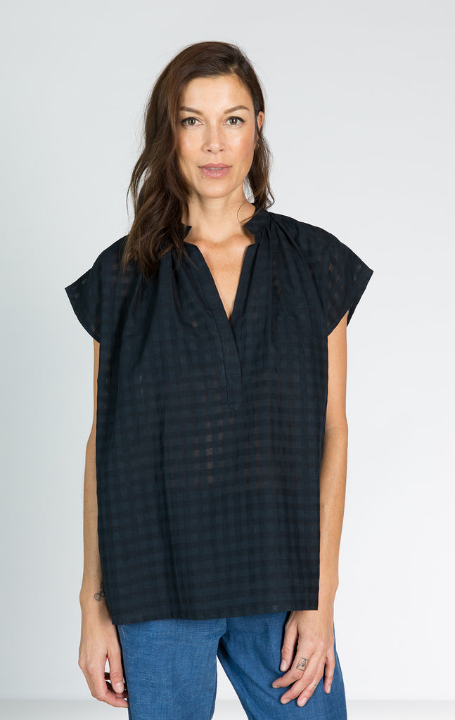 Khadi Grid Shirt