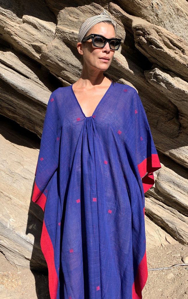 Supersoft Blue Caftan