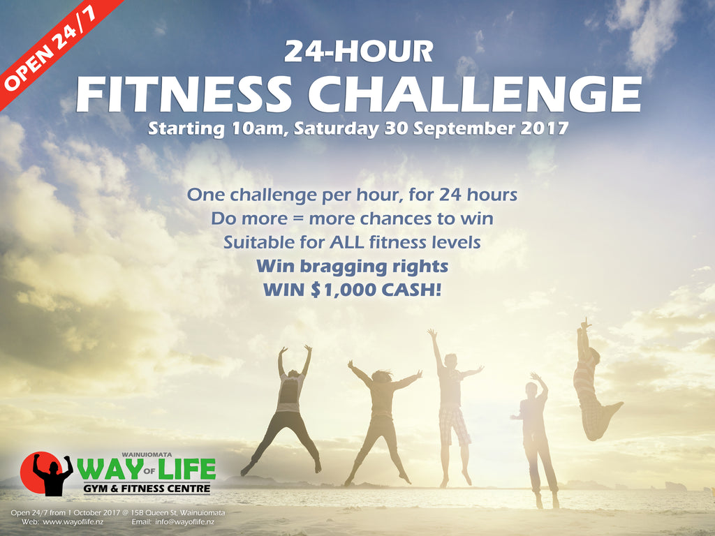 Way of Life 24-Hour Fitness Challenge