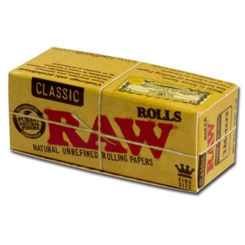 Raw Classic King Size Roll - Retro Active Smoke Shop