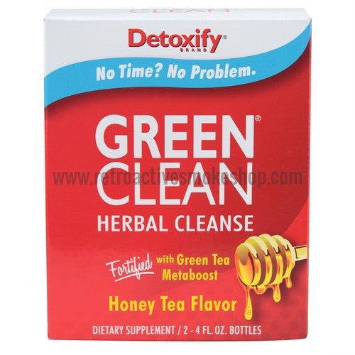 [product type] - (CLEARANCE) Detoxify Green Clean - Retro Active Smoke Shop