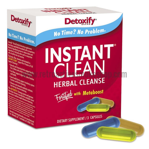 [product type] - (CLEARANCE) Detoxify Instant Clean - Retro Active Smoke Shop