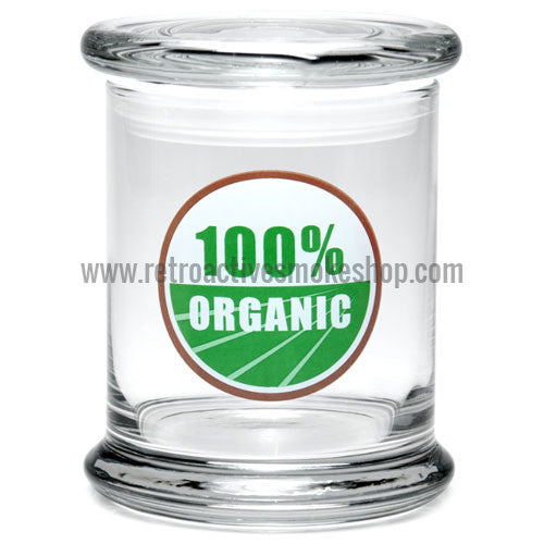 420 Science Large Pop Top Jar - 100% Organic - Retro Active Smoke Shop