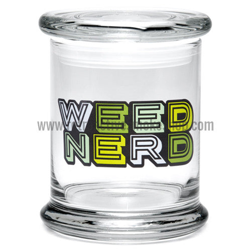 420 Science Large Pop Top Jar - Weed Nerd - Retro Active Smoke Shop