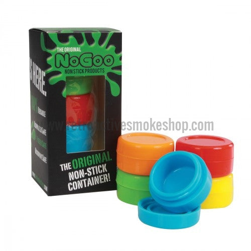 NoGoo Concentrate Containers 5-Pack - Retro Active Smoke Shop
