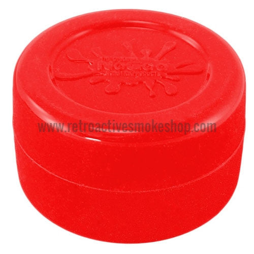 NoGoo Concentrate Container Large - Red - Retro Active Smoke Shop