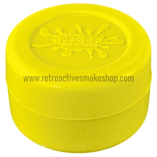 NoGoo Concentrate Container Large - Yellow - Retro Active Smoke Shop