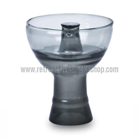 Sahara Smoke Pyrex Vortex Hookah Bowl - Smoke - Retro Active Smoke Shop