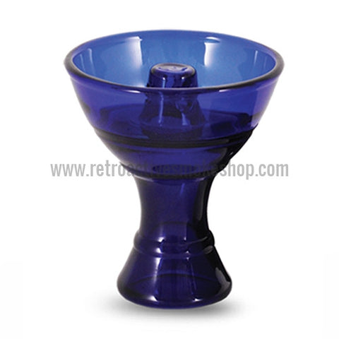 Sahara Smoke Pyrex Vortex Hookah Bowl - Blue - Retro Active Smoke Shop