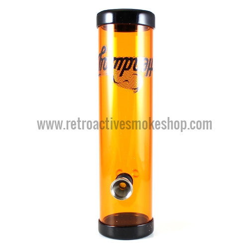 "Headway 8"" Acrylic Steamroller - Orange - Retro Active Smoke Shop"