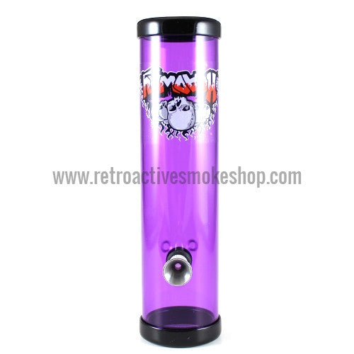 "Headway 8"" Acrylic Steamroller - Purple - Retro Active Smoke Shop"