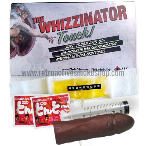 Whizzinator Touch Synthetic Urine Kit - Brown - Retro Active Smoke Shop