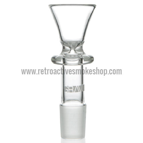 Grav Labs 18mm Funnel Bowl - Retro Active Smoke Shop