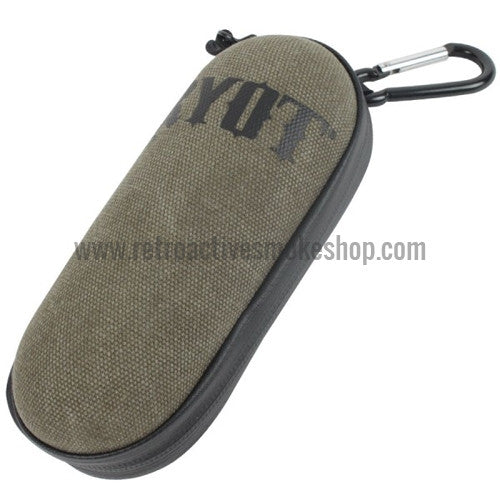 RYOT Large SmellSafe™ HardCase Pipe Case - Olive - Retro Active Smoke Shop  - 1