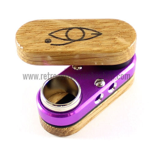 Classic Monkey Pipe - Purple - Retro Active Smoke Shop
