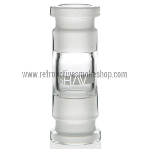 Grav Labs 14mm Female/14mm Female Straight Adapter - Retro Active Smoke Shop