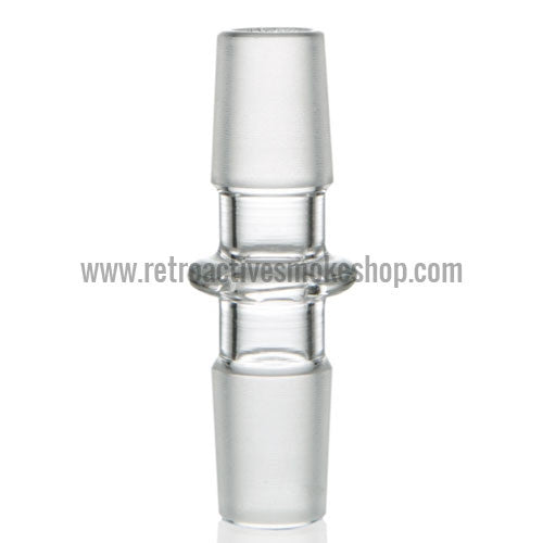 Grav Labs 18mm Male/18mm Male Straight Adapter - Retro Active Smoke Shop