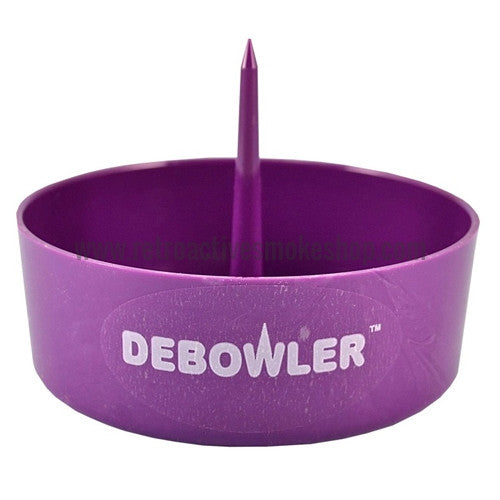 Debowler Ashtray - Purple - Retro Active Smoke Shop