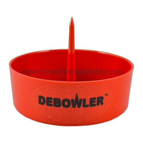 Debowler Ashtray - Red - Retro Active Smoke Shop