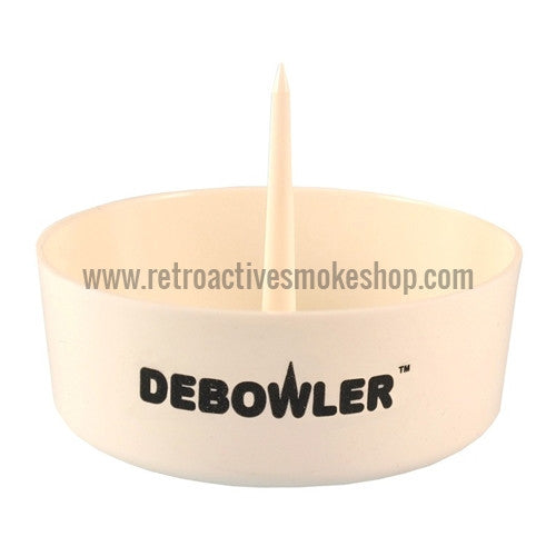 Debowler Ashtray - White - Retro Active Smoke Shop