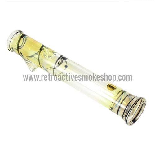 Glowfly Glass Steamroller - Fumed/Black - Retro Active Smoke Shop