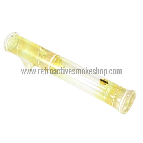 Glowfly Glass Steamroller - Fumed/White - Retro Active Smoke Shop