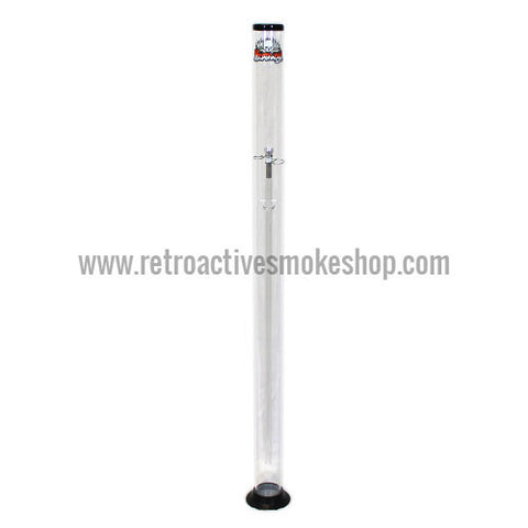 "Headway Big Boy 48"" (4 ft) Acrylic Waterpipe - Clear - Retro Active Smoke Shop"
